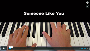 keyboard someone like you